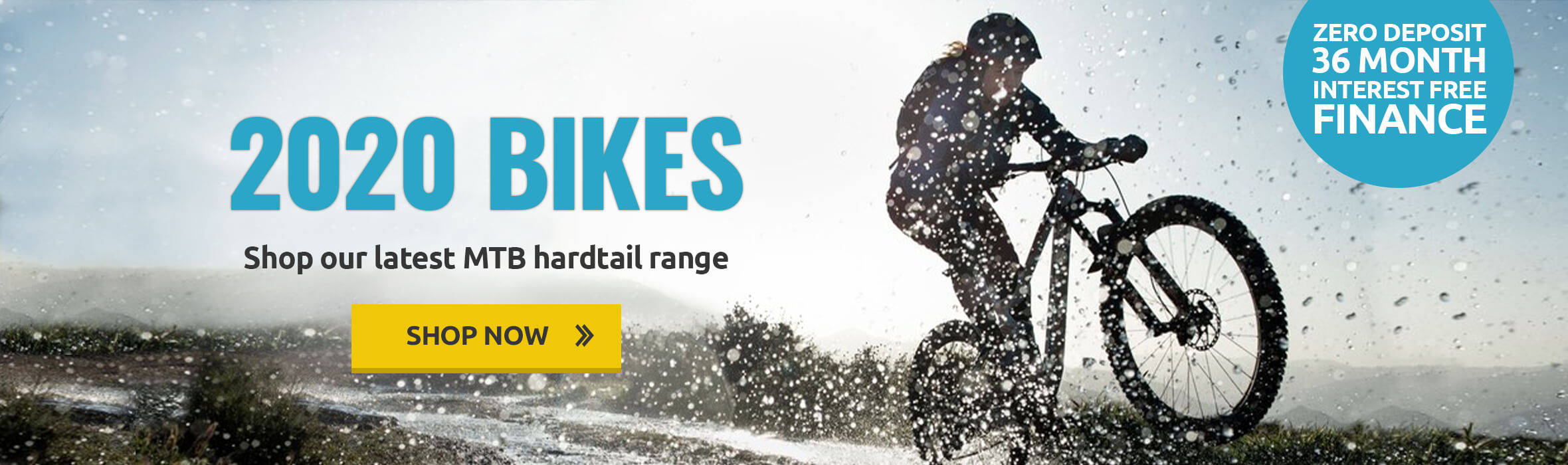 2020 MTB Hardtail Bike Range - Zero Deposit Interest Free Finance Available