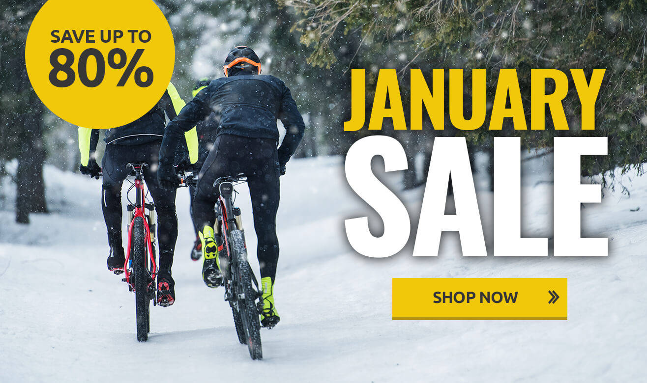 Save up to 80% in the January Sale