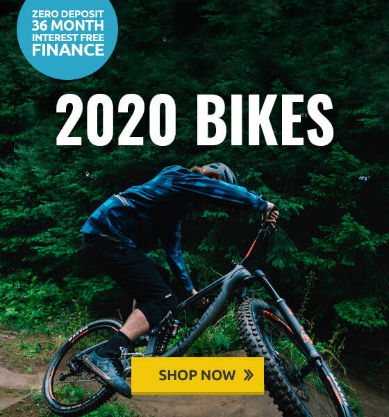 2020 Bikes - Zero deposit 36 month interest free finance
