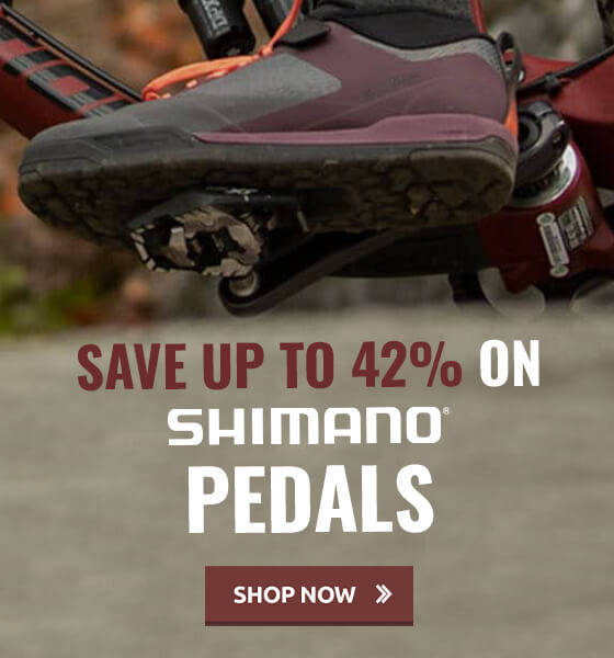 Save up to 42% on Shimano Pedals