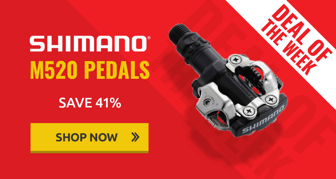 Deal of the week - Shimano M520 Pedals