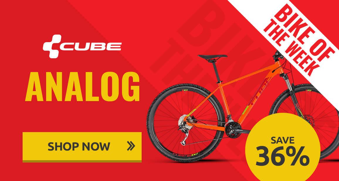 Bike of the week - Cube Analog - Save 36%