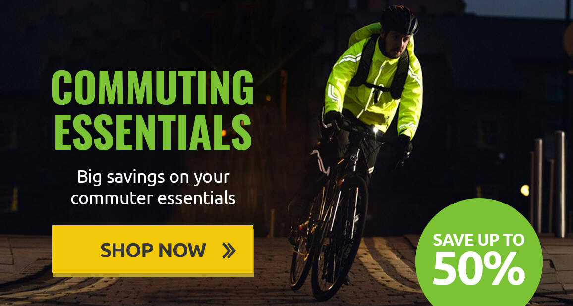 Save up to 50% on commuter essentials