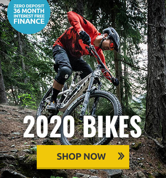 2020 Bikes - 36 month finance available