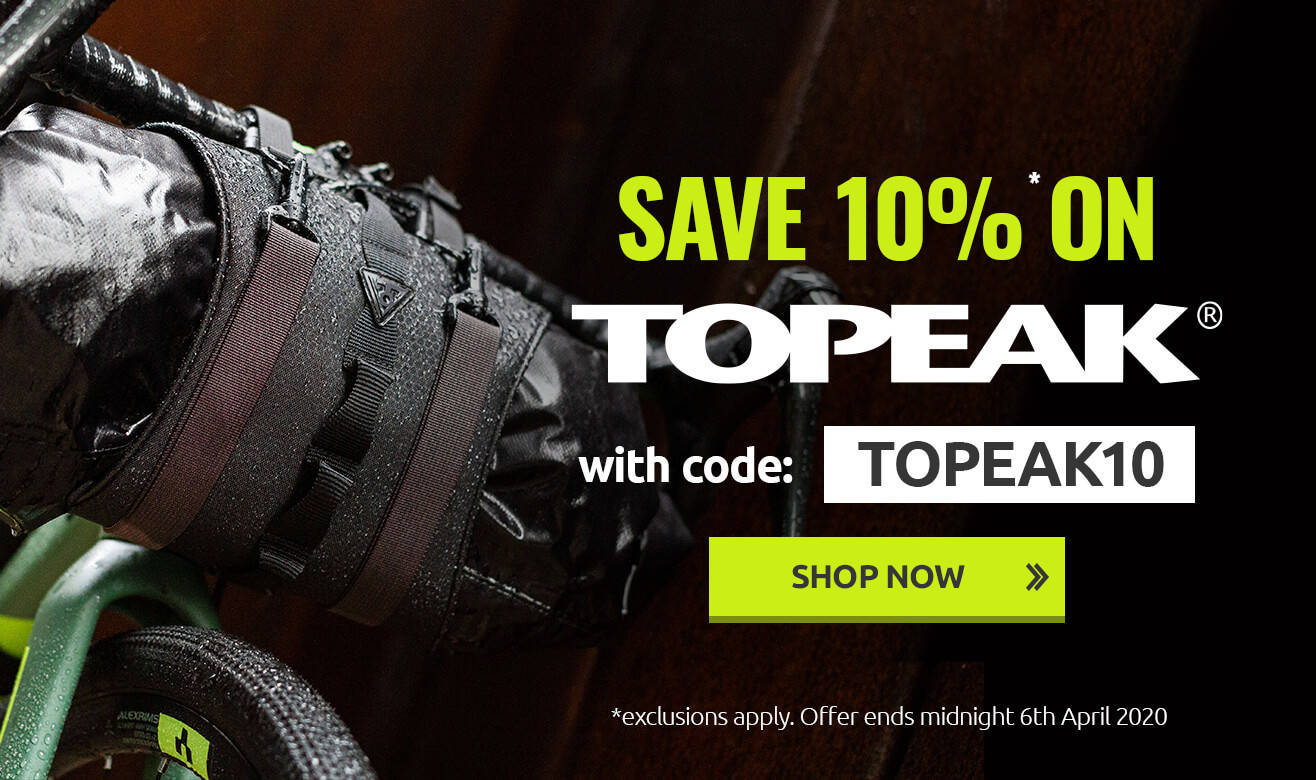 Save 10% on Topeak With Code TOPEAK10