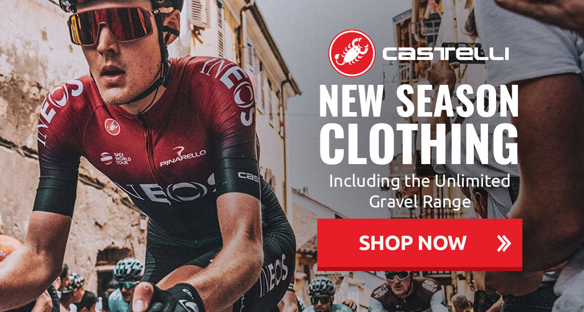 New Season Clothing from Castelli - Including the Unlimited Gravel Range