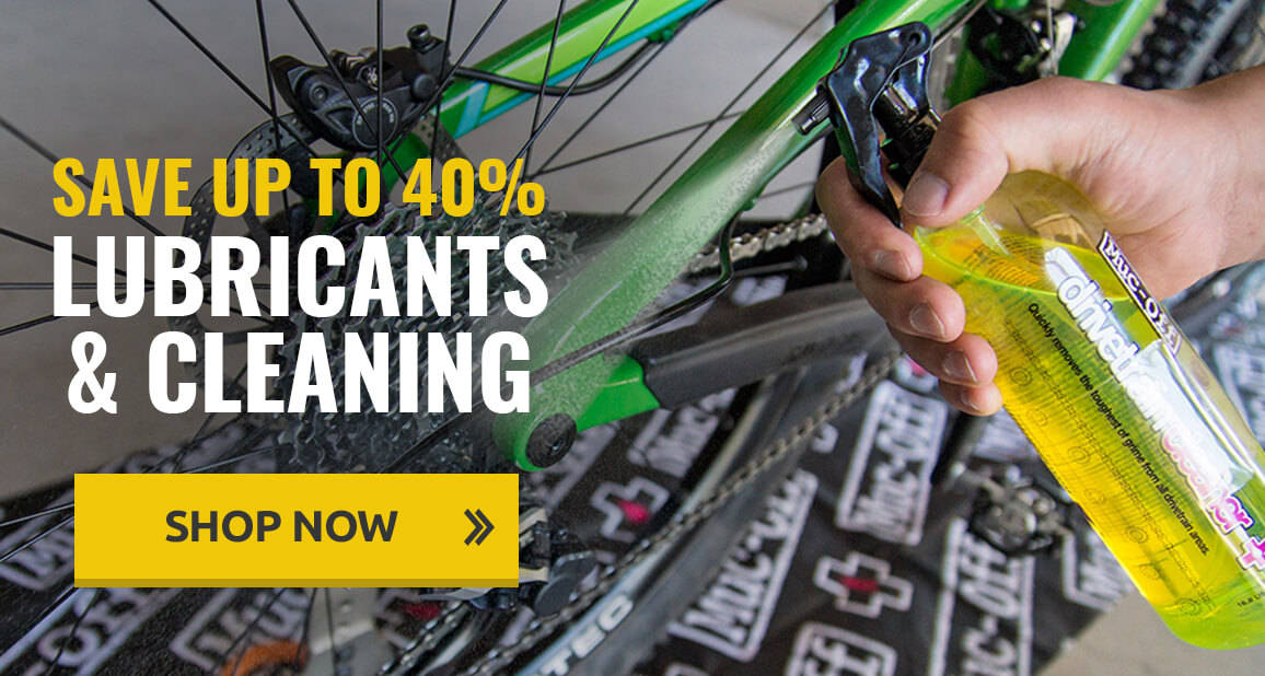 Up to 40% off Lubricants & Cleaning