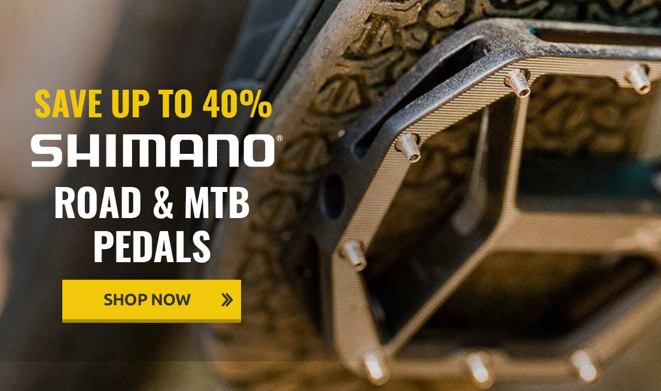 Save up to 40% on Shimano Pedals!