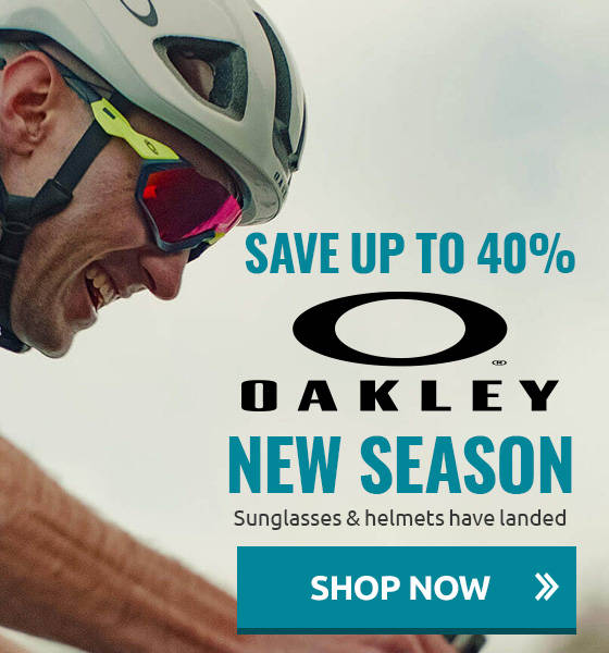Up to 41% off Oakley Sunglasses & helmets!