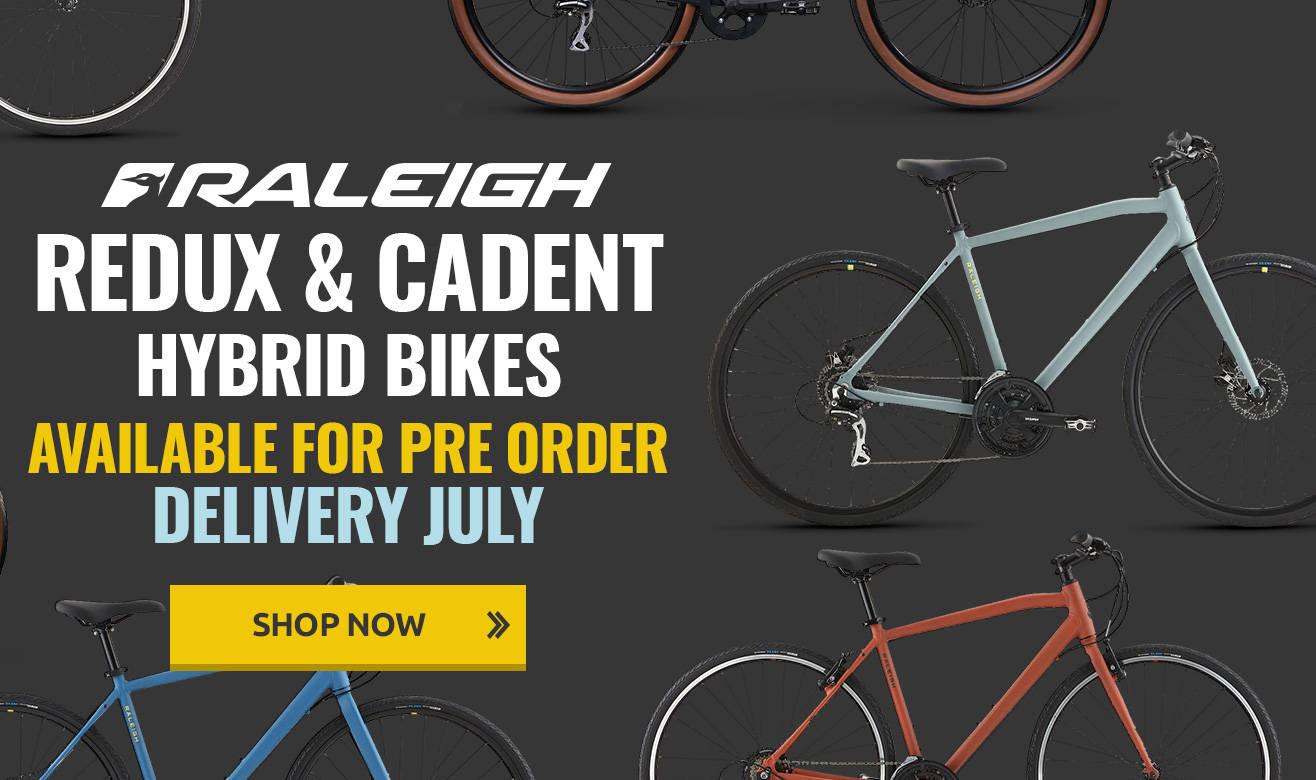Raleigh Hybrid Bikes - Pre Order for July