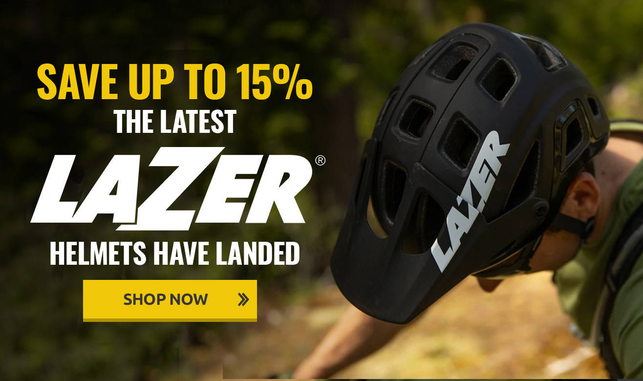 Save up to 15% on Lazer Helmets