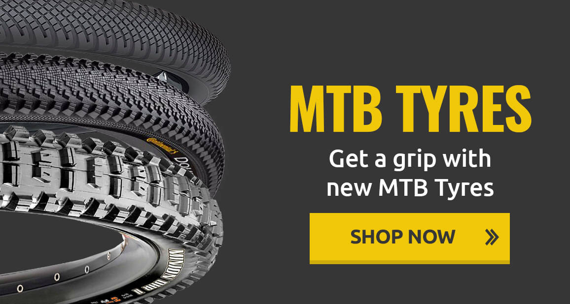 Get a grip with new MTB Tyres