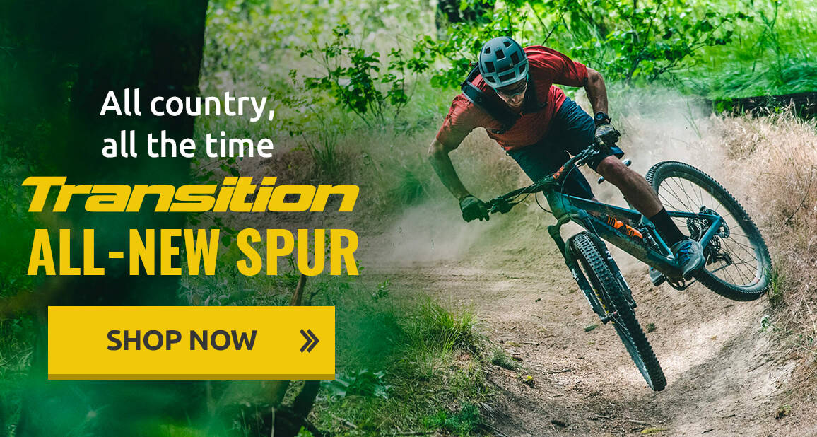 The all-new Transition Spur