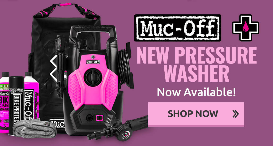 New Muc-Off Pressure Washer Now Available!