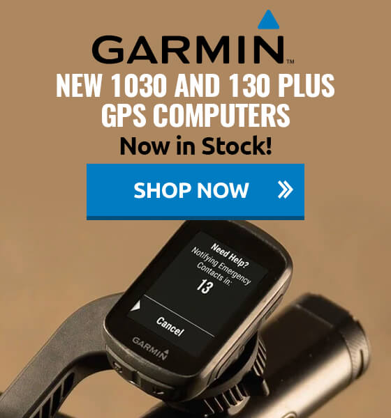 New Garmin 1030 and 130 Plus GPS Computers now in stock!