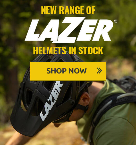New range of Lazer helmets in stock