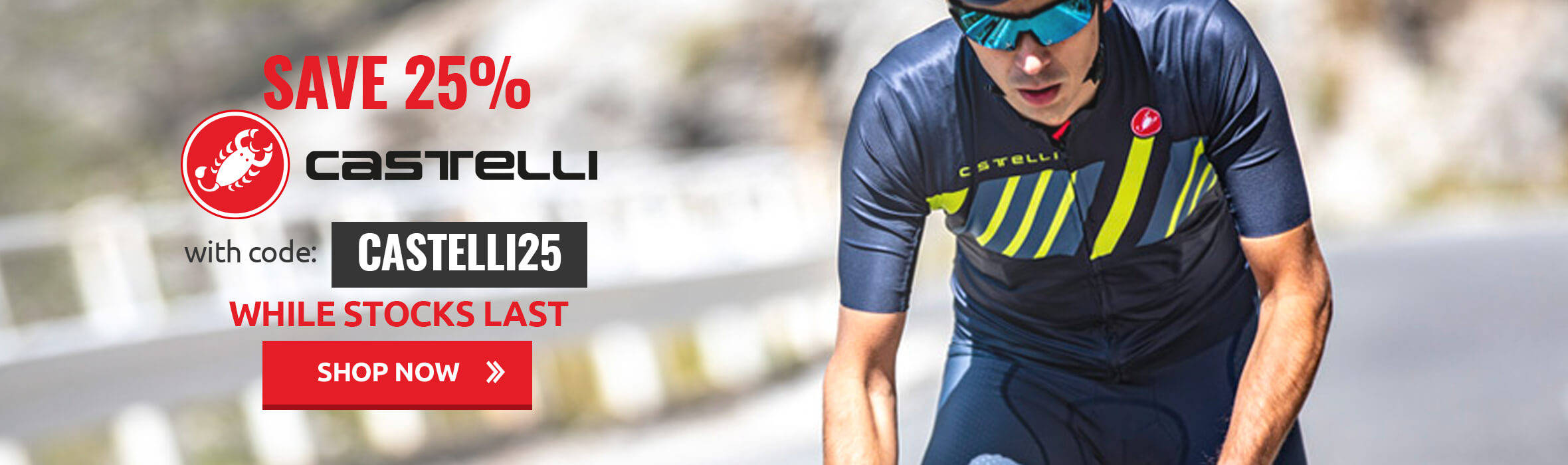 Save 25% with code Castelli25