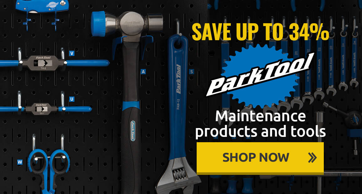 Save up to 34% on Park Tool maintence products and tools