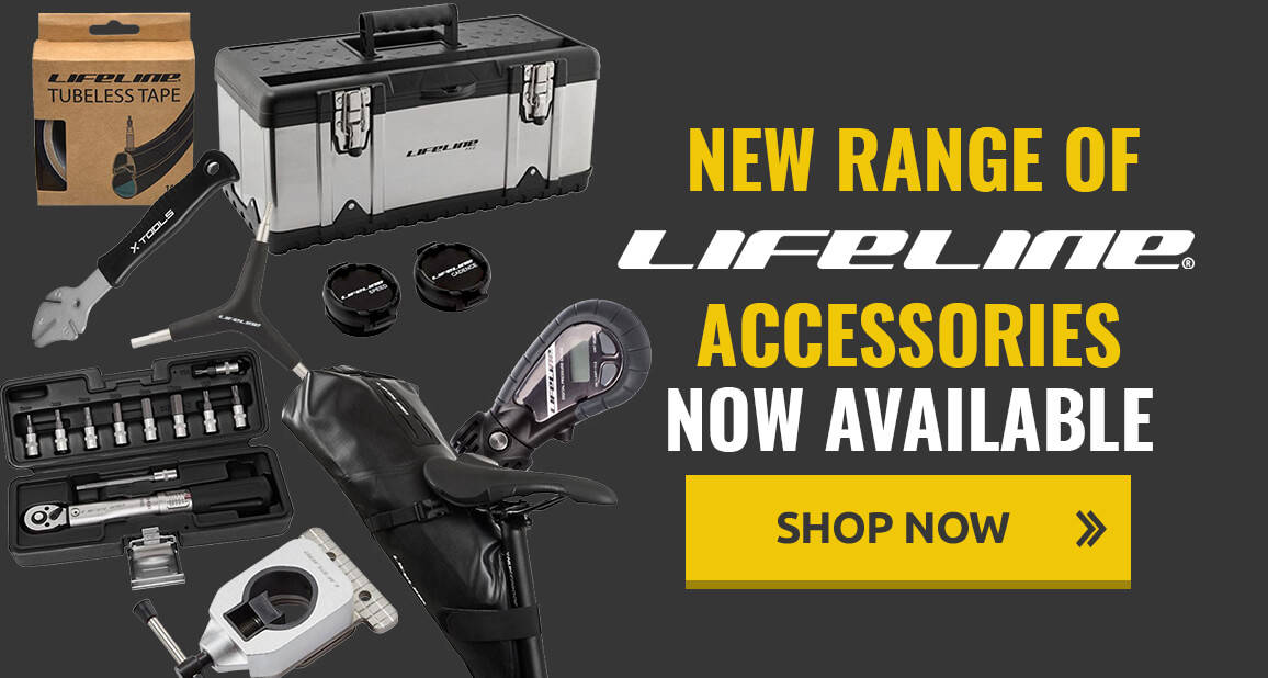 New range of LifeLine accessories now available!