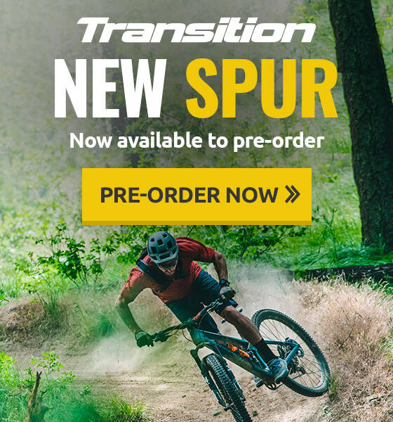 New Transition Spur now available to pre-order