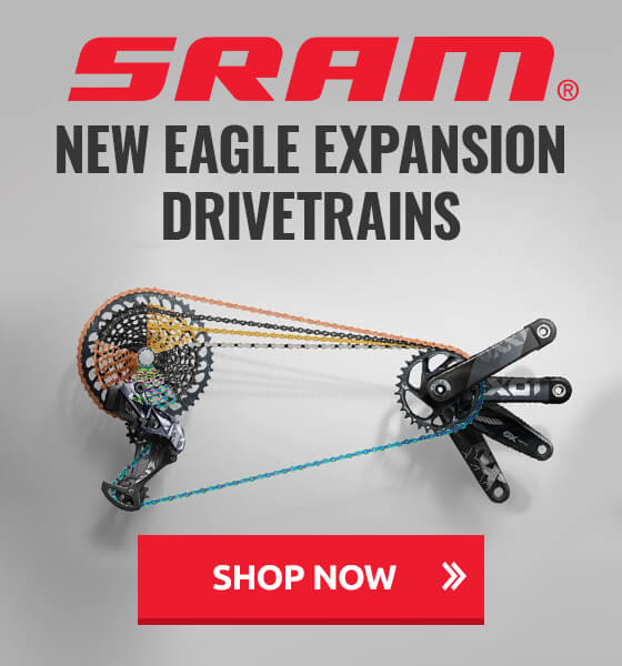 New SRAM Eagle Expansion drivetrains now available!