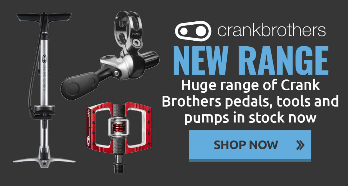 Huge range of Crank Brothers pedals, tools and pumps in stock now