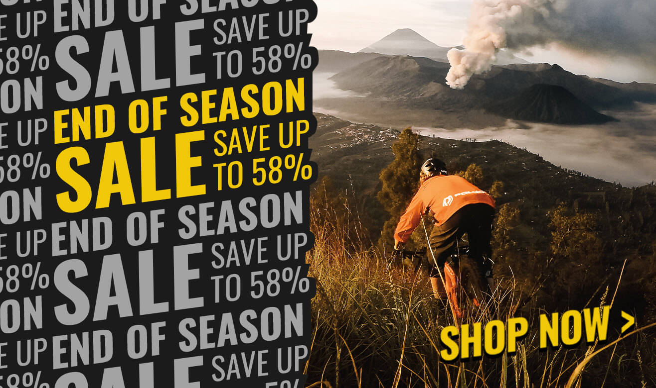 Save up to 58% in our end of season sale