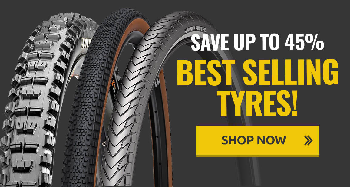 Save up to 45% on our best selling tyres!