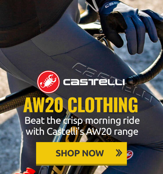 Beat the crisp morning ride with Castelli's AW20 range!