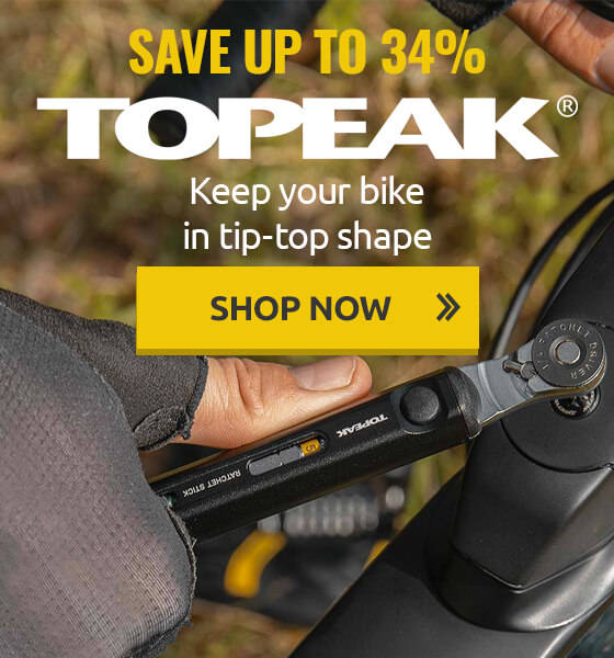 Keep your bike in tip-top shape with Topeak and save up to 34%