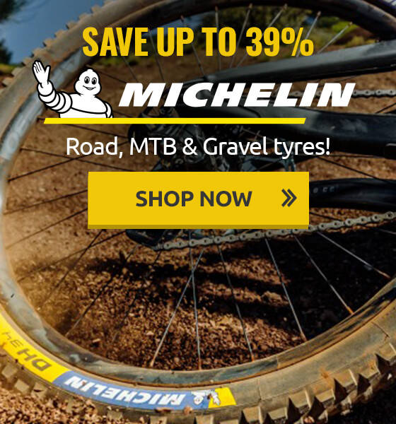 Save up to 39% on Michelin road, MTB & gravel tyres!