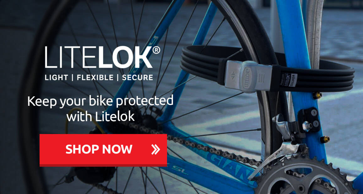 Keep your bike protected with Litelok