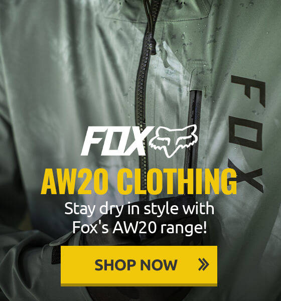 Stay dry in style with Fox's AW20 range!