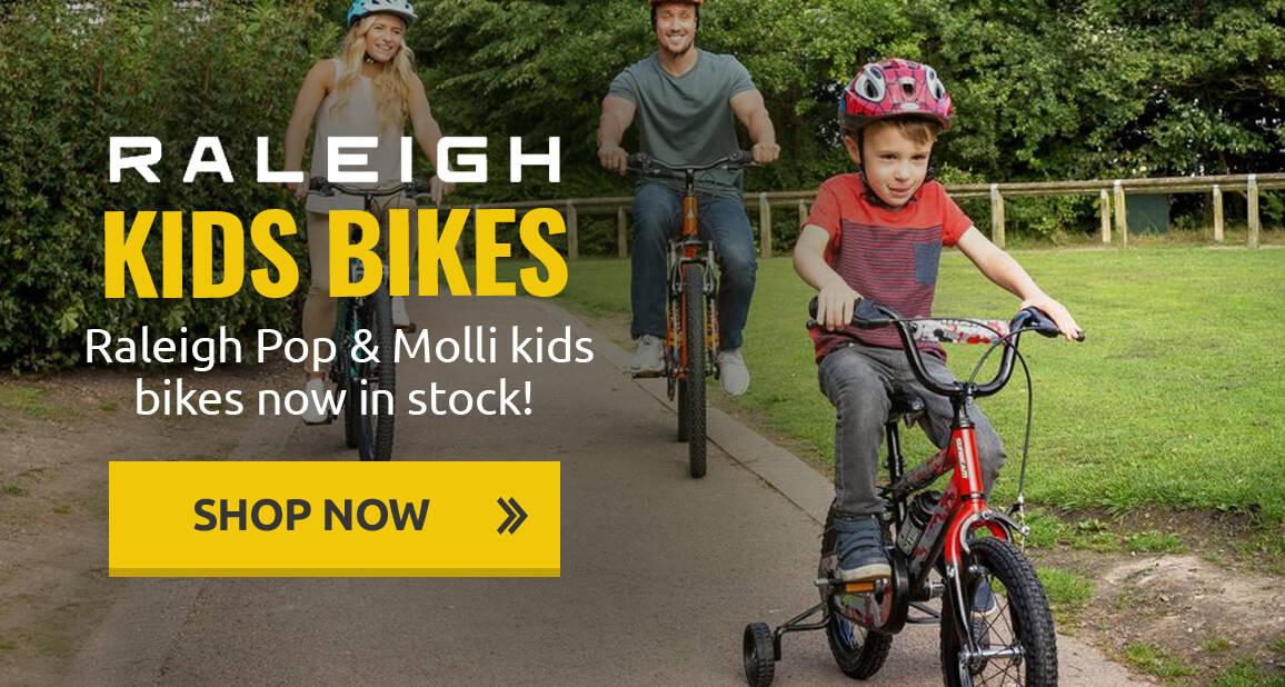 Raleigh Pop & Molli kids bikes now in stock