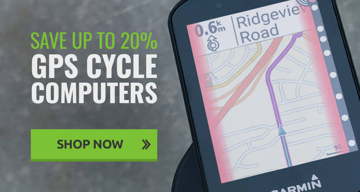 Save up to 20% on GPS Cycle Computers