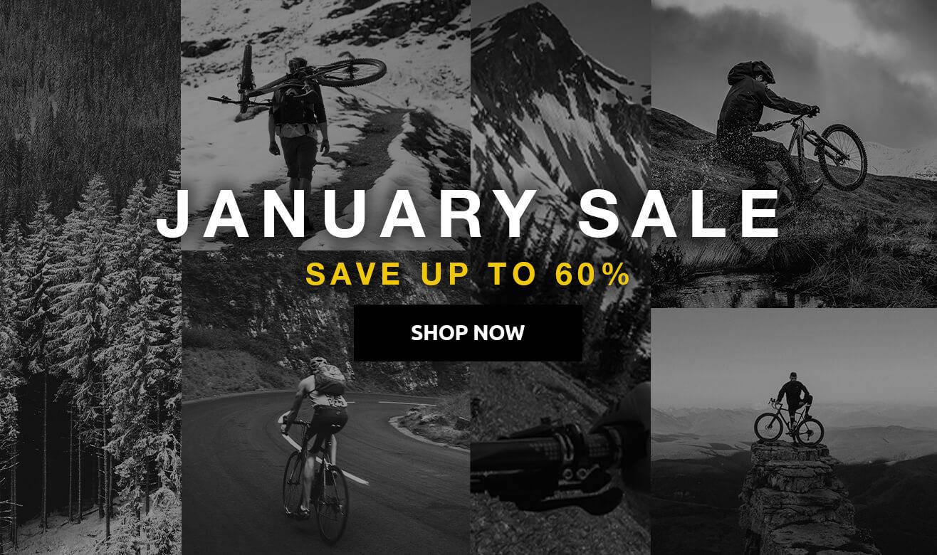 Save up to 60% on January Sale