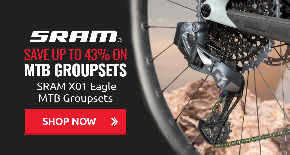 Save up to 43% on SRAM X01 Eagle MTB Groupsets