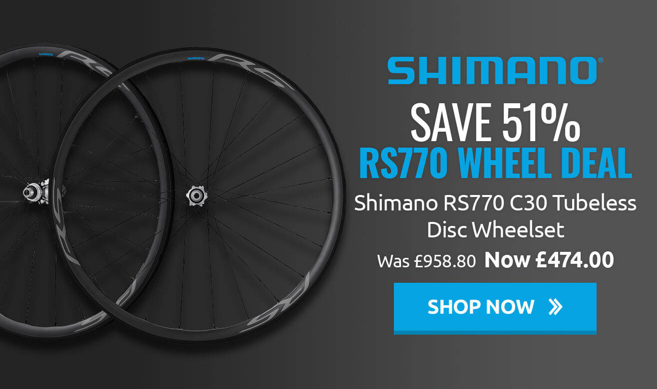Save 51% on Shimano RS770 Wheel Deal