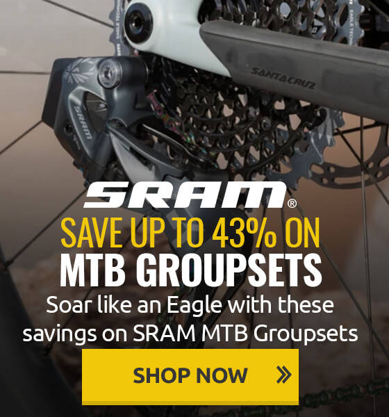 Soar like an Eagle with up to 43% off SRAM MTB Groupsets