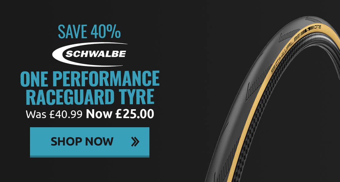 Save 40% on Schwalbe One Performance Raceguard Tyre