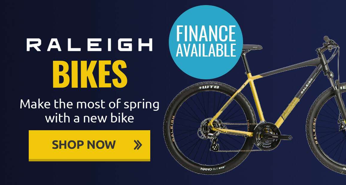 Make the most of spring with a new bike from Raleigh!