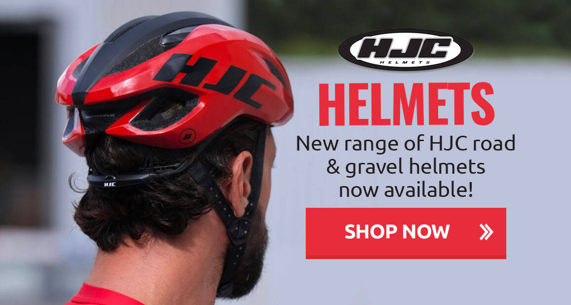 New range of HJC road & gravel helmets now available!
