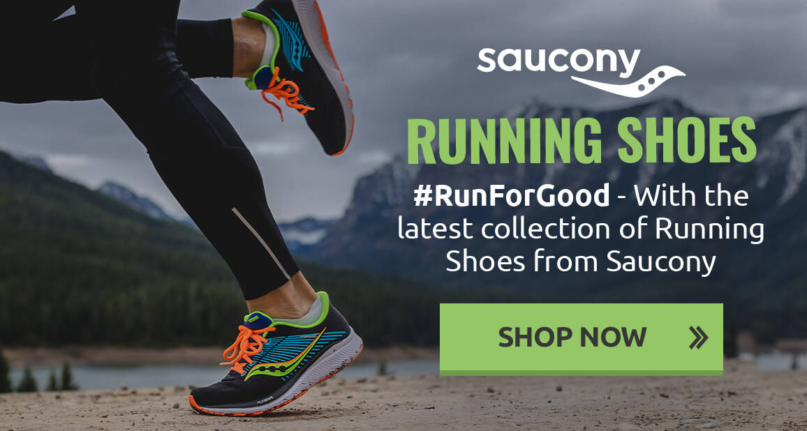 #RunForGood - With the latest collection of Running Shoes from Saucony