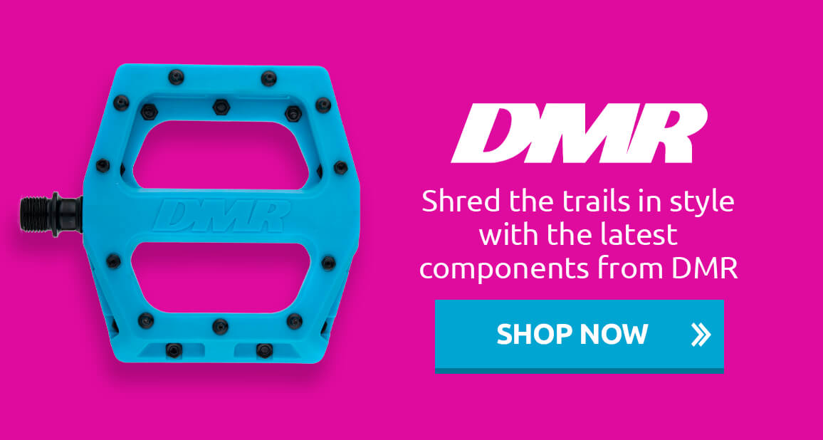 Shred the trails in style with the latest components from DMR