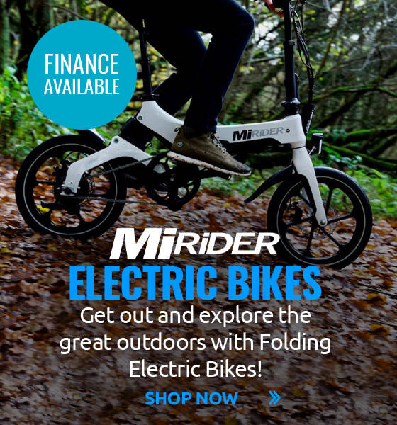 Get out and explore the great outdoors with MiRider Folding Electric Bikes!