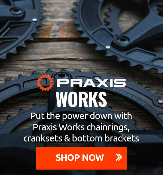 Put the power down with Praxis Works chainrings, cranksets & bottom brackets