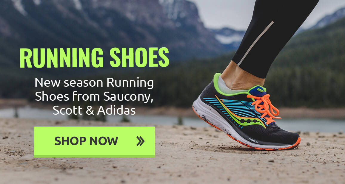 New season Running Shoes from Saucony, Scott & Adidas