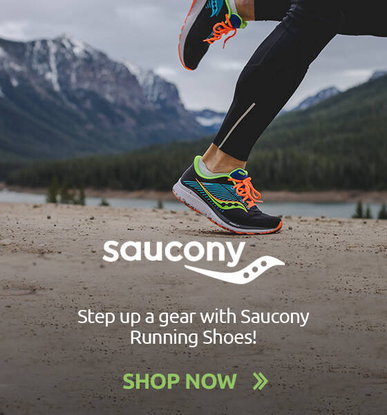 Step up a gear with Saucony Running Shoes!