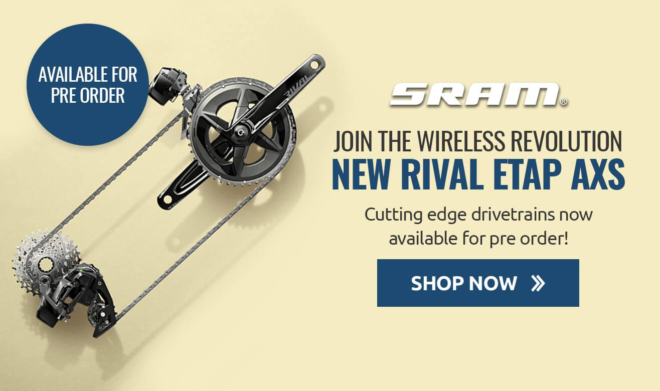 Pre Order the New SRAM Rival ETAP AXS Drivetrain!