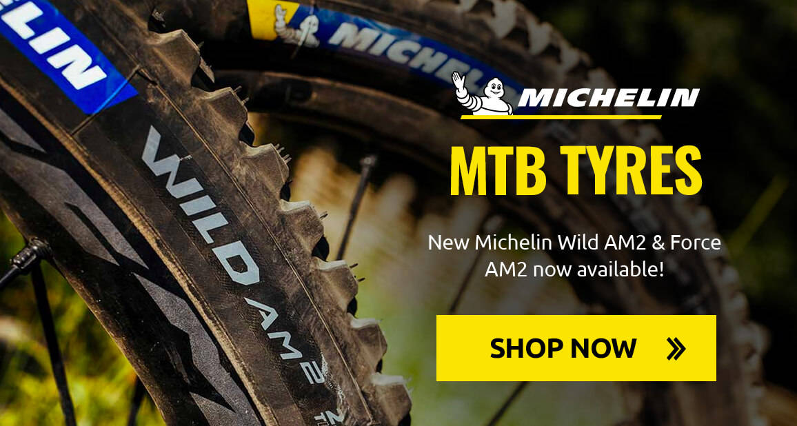 New Michelin Wild AM2 & Force AM2 now available!